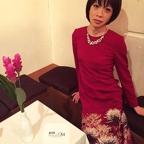 着物ドレスのマドレーヌさん